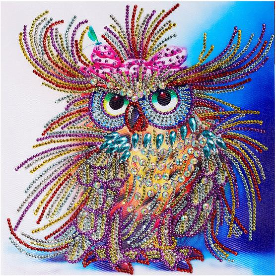Royal Owl - 5D™ Diamond Painting Kit - Jenra Store