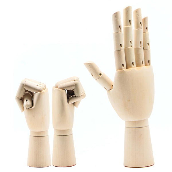 Wooden Hand Models - Jenra Store