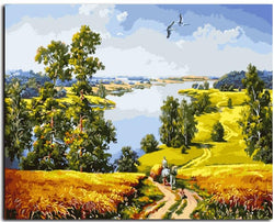 Peaceful Countryside - Painting By Numbers - Jenra Store