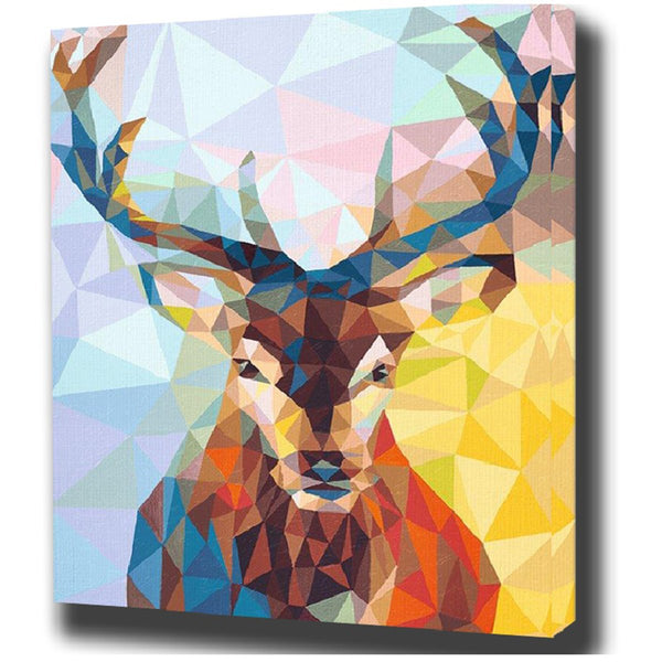 Prisma Elk- Painting By Numbers - Jenra Store