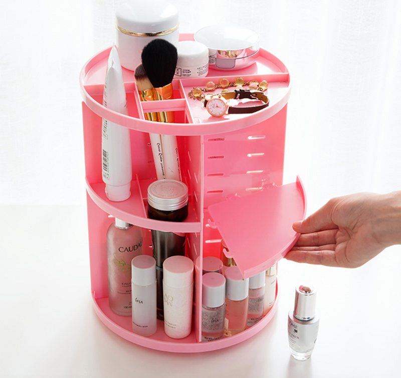 2019 360° Rotating Makeup Box
