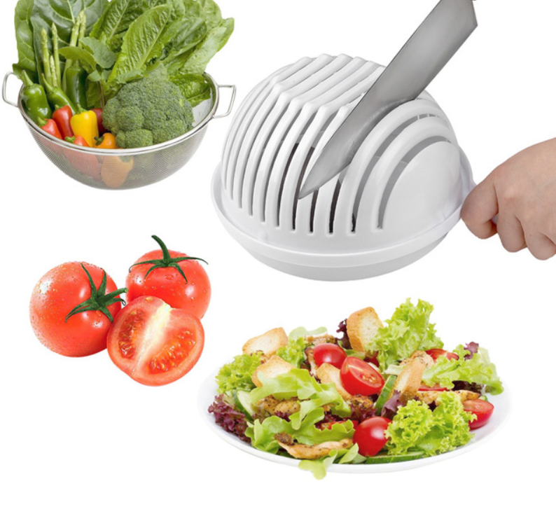 2019 Salad Cutter Bowl