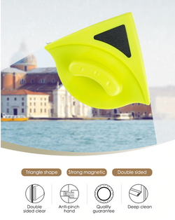 DUO-WIDO™ - The Incredible Magnetic Window Cleaner