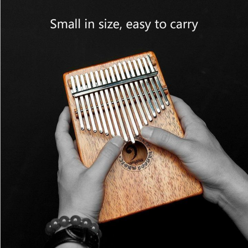 iMELODY™ Gorgeous 17 Keys Kalimba - Thumb Piano - Play an instrument never easy like this!