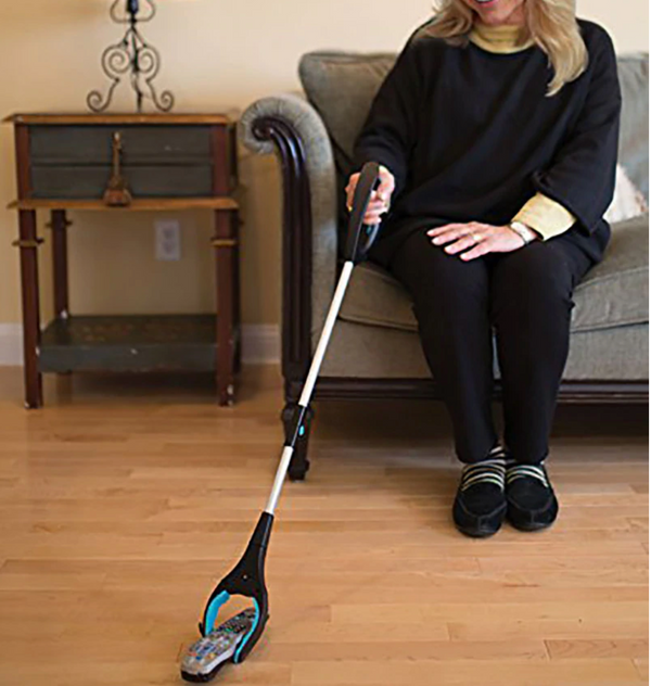 Homecraft Pick-Up Reacher with Ergonomic Handle - For elderly and disabled people