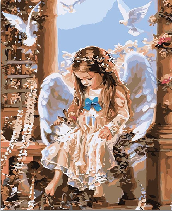 The Little Angel- Painting By Numbers - Jenra Store