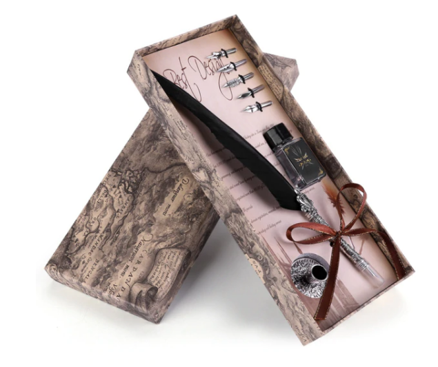 ROYAL™ - Classical Quill Pen Set - Writing Is A Process, a Journey Into Memory and the Soul