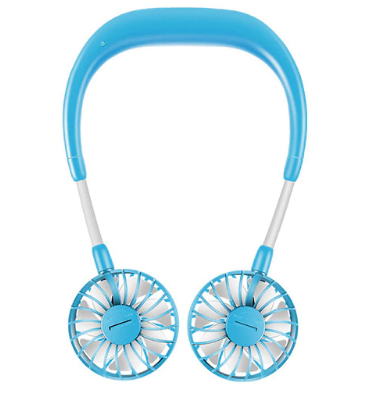 AirCooling™ - Mini Wearable Wireless neckband Fan - Stay Cool Wherever You Are