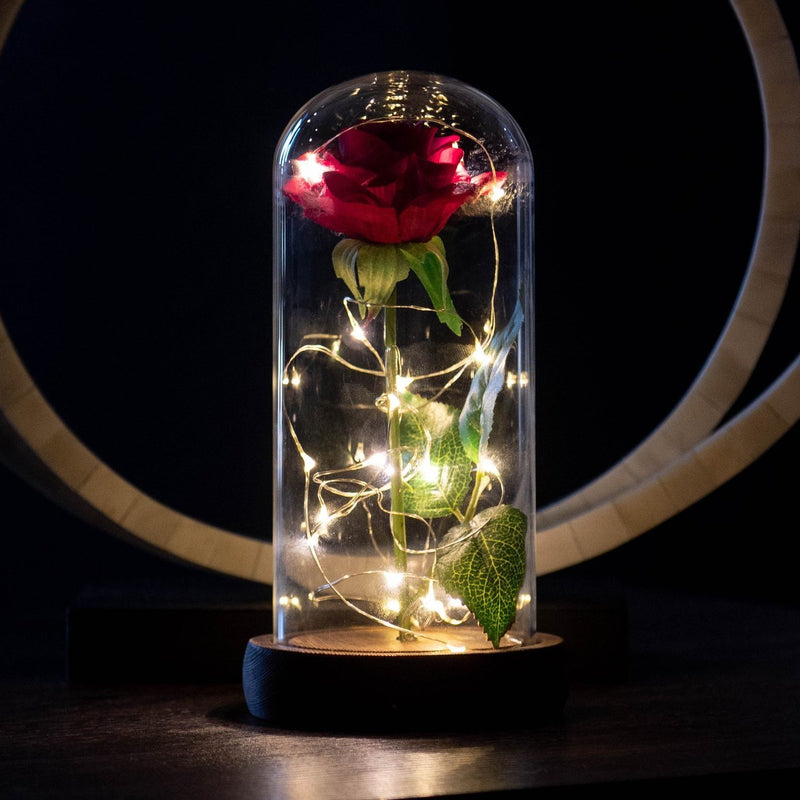Enchanted Rose Flower Lamp - Jenra Store