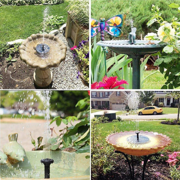SUNFLOW™ - Solar Powered Fountain Pump - Refresh your Garden