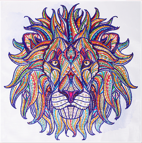 Royal Lion - 5D™ Diamond Painting Kit - Jenra Store