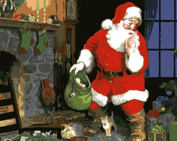 The Secret of Santa- Painting By Numbers - Jenra Store