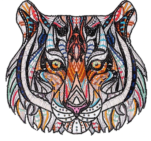 Royal Tiger - 5D™ Diamond Painting Kit - Jenra Store