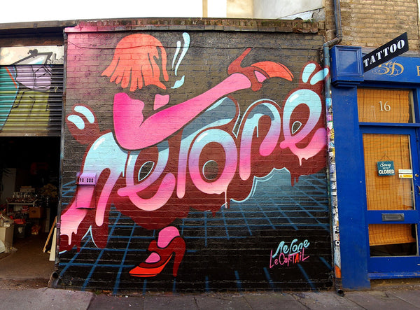 East London street art  - Nerone