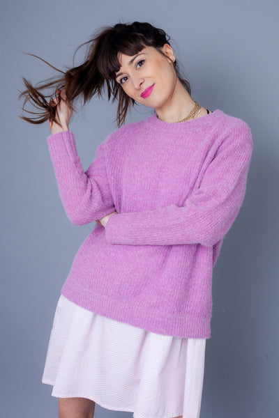 Vintage inspired pastel knits