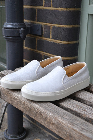Hudson Millie Calf White Shoe £127.00