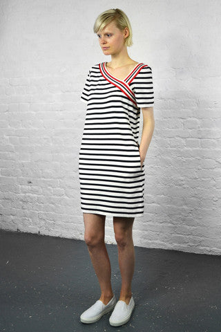 See By Chloe Striped White Dress £170.00