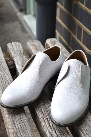 Hudson Charlie May White Leather Shoes £148.00