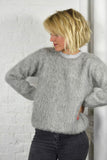 Nanushka Fuzzy Grey Marl Jumper Autumn 14 Mercantile London