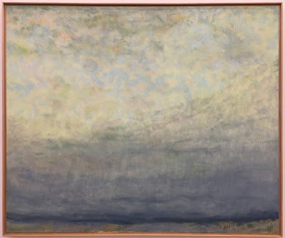 Yesterday's Clouds by Jane Wilson via Painting the Hamptons