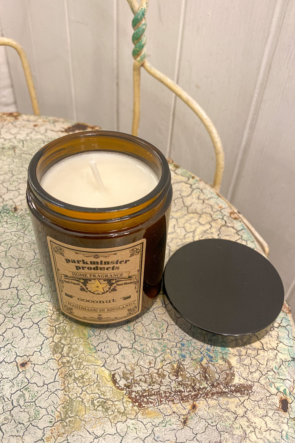 Parkminster Coconut Apothecary Jar Candle - The Mercantile London