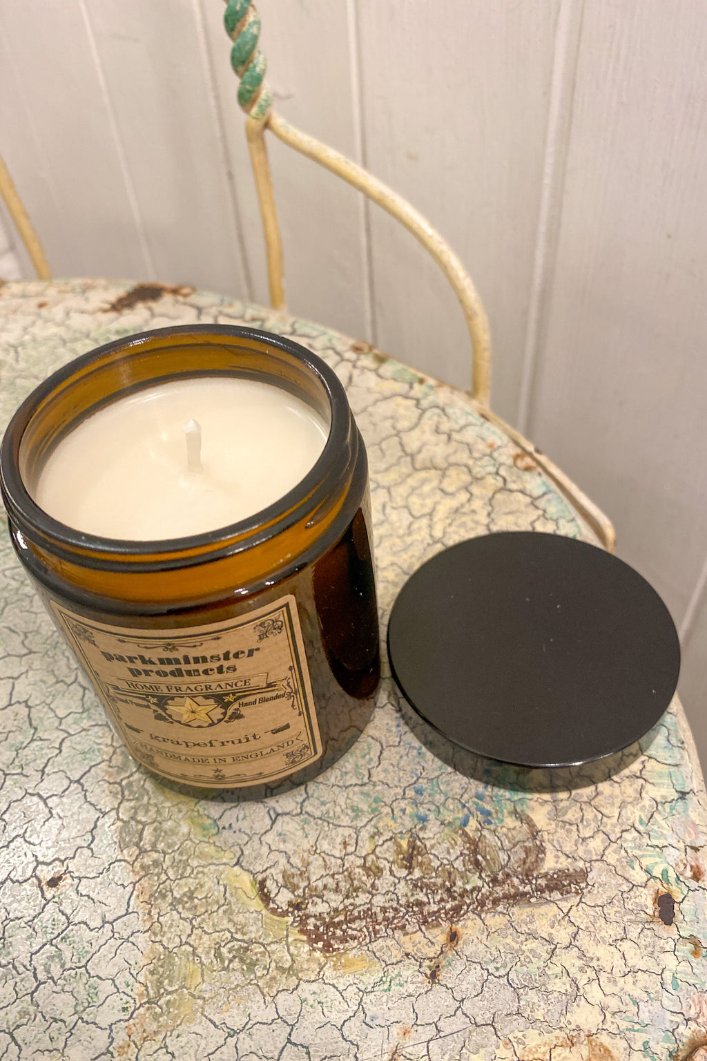 Parkminster Grapefruit Apothecary Jar Candle - The Mercantile London
