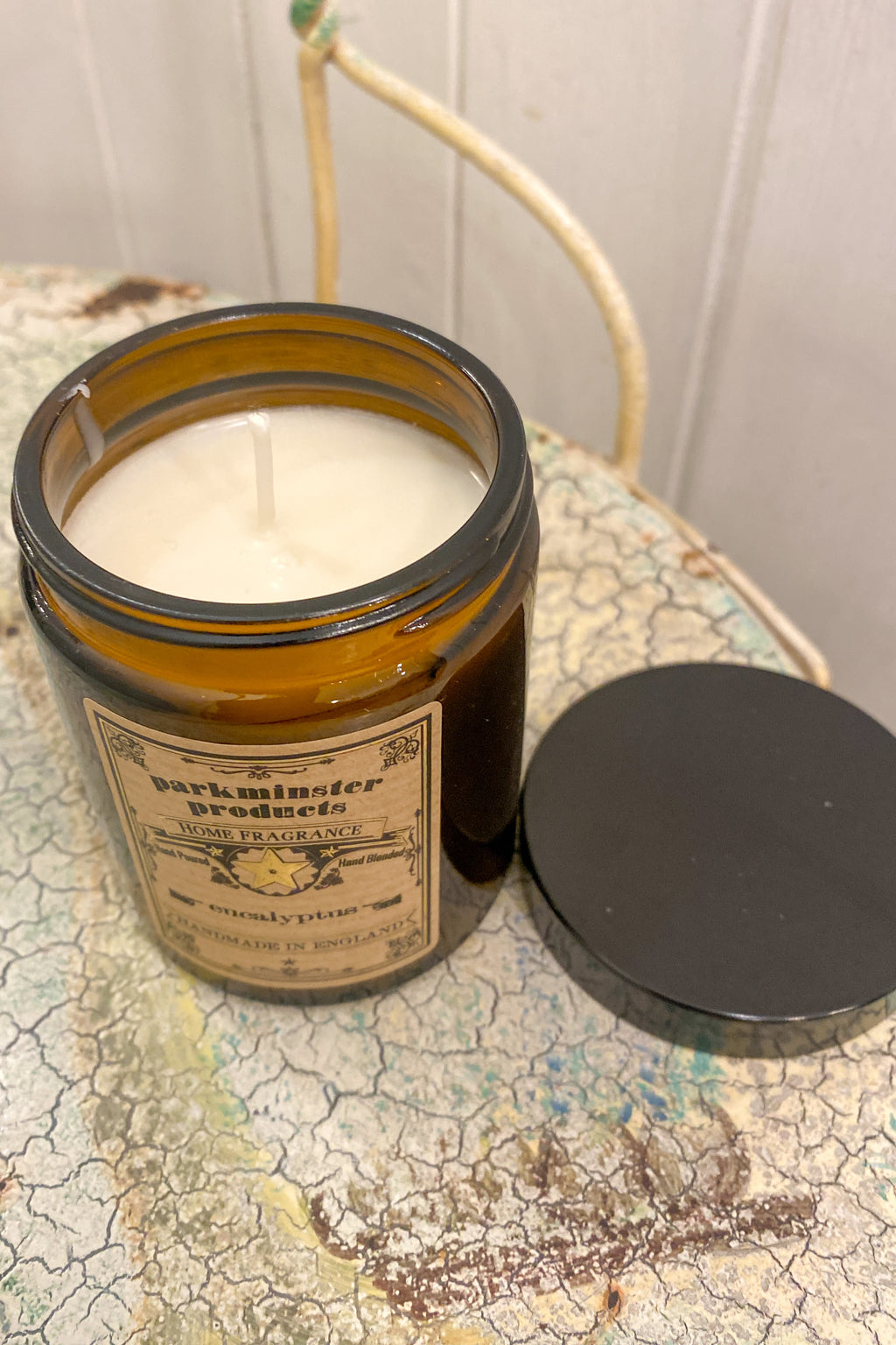 Parkminster Eucalyptus Apothecary Jar Candle - The Mercantile London