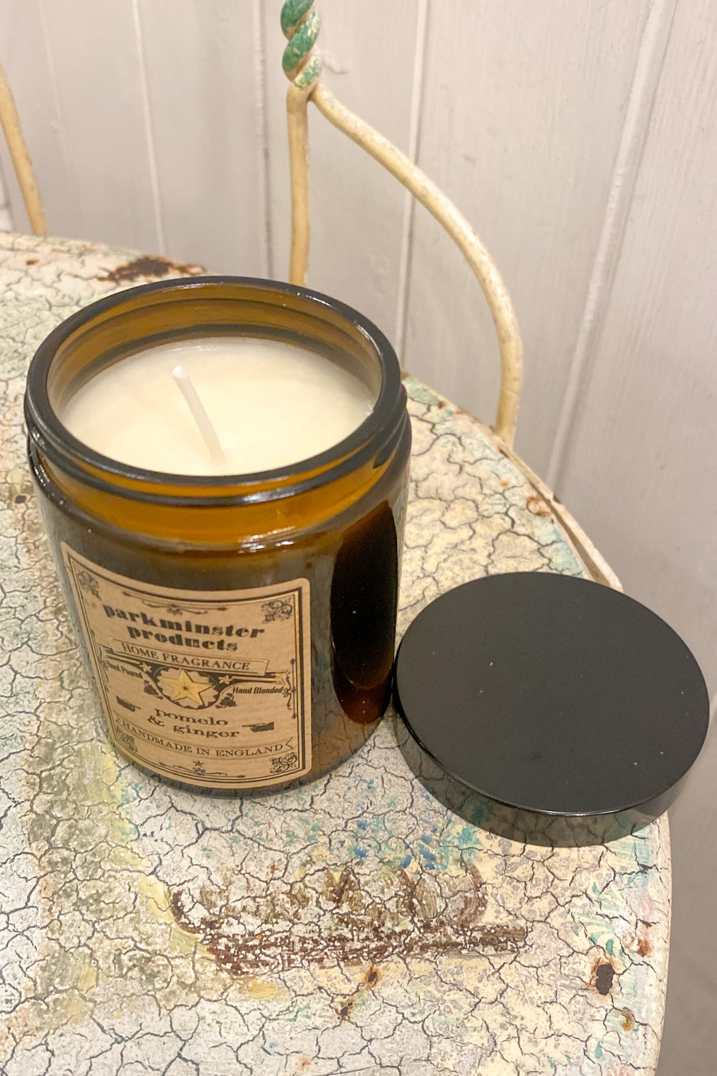 Parkminster Pomelo & Ginger Apothecary Jar Candle - The Mercantile London