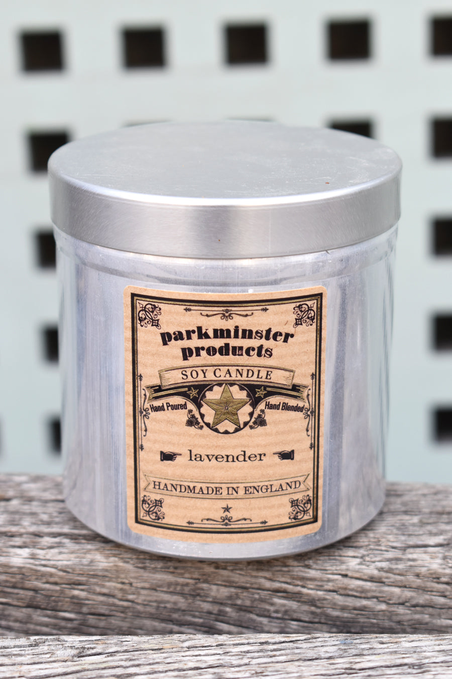 Parkminster Lavender Tin Candle - The Mercantile London