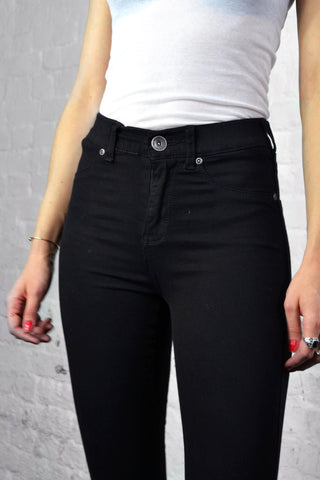 Dr Denim Plenty Black Jeans
