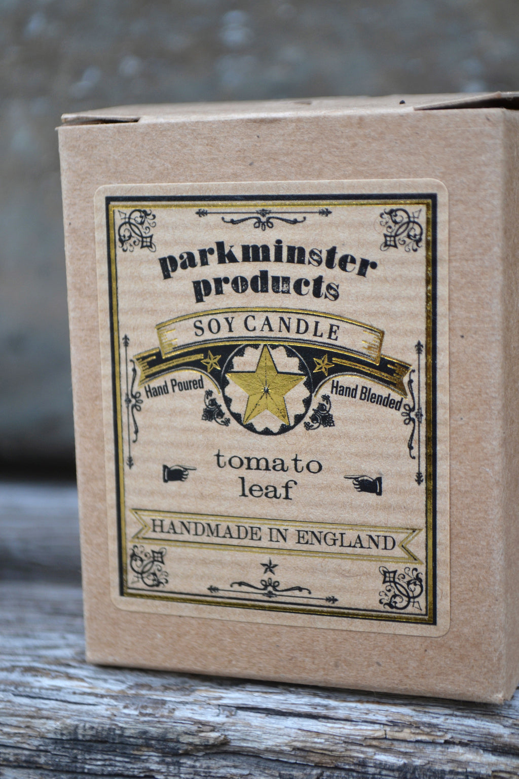 Parkminster Tomato Leaf Candle - The Mercantile London