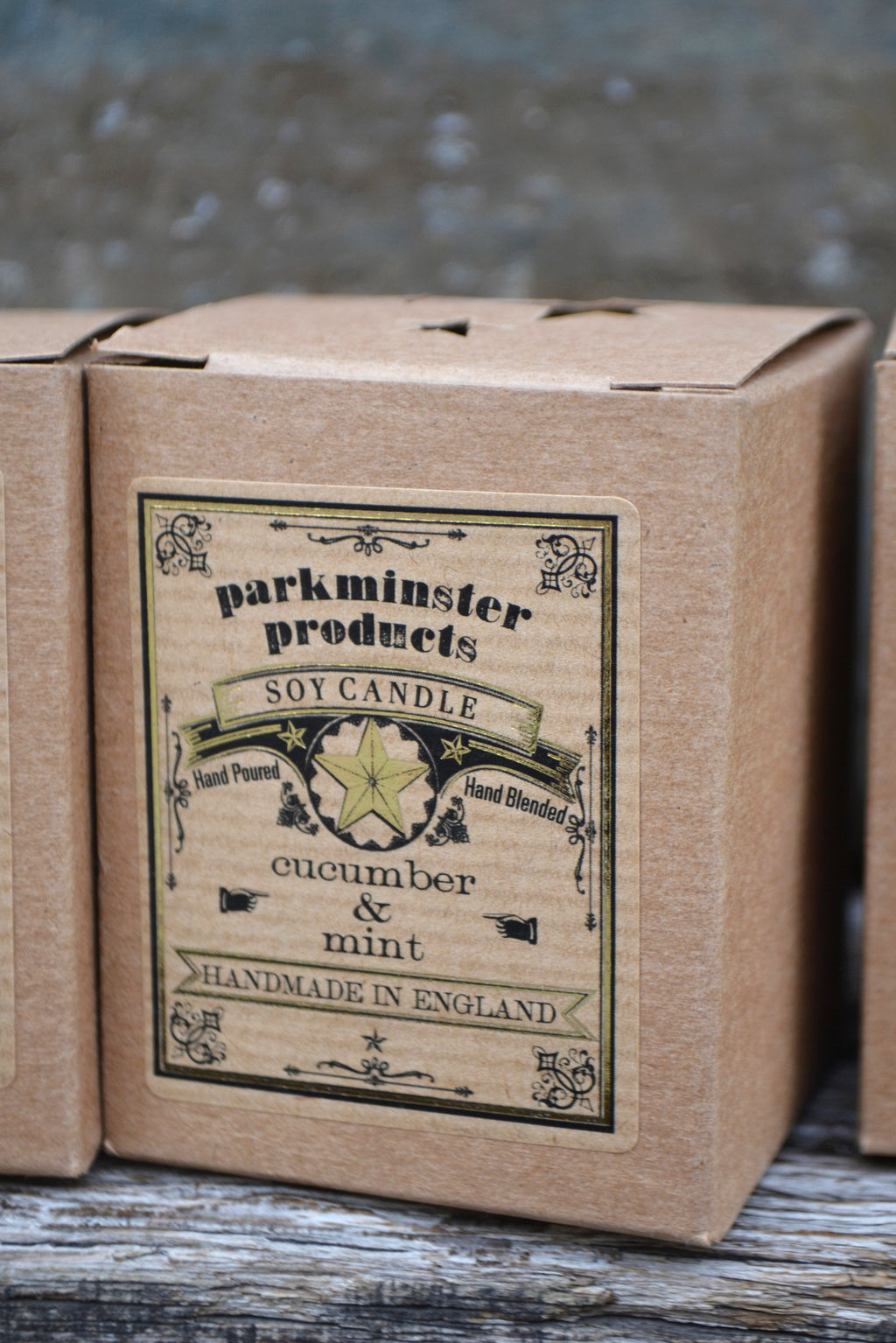 Parkminster Cucumber & Mint Candle - The Mercantile London