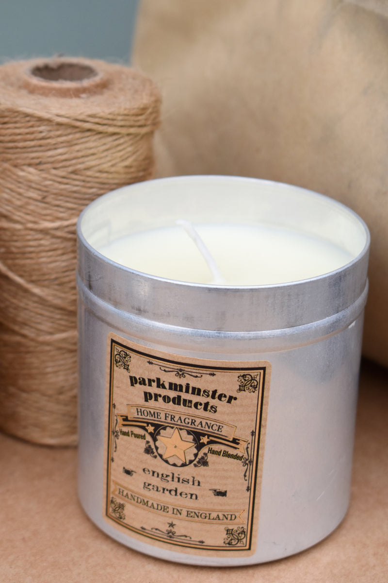 Parkminster English Garden Tin Candle - The Mercantile London