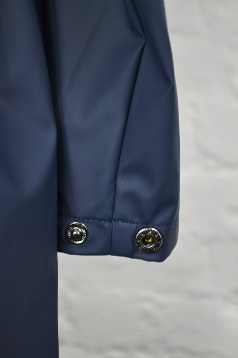 Rains Blue Jacket - The Mercantile London