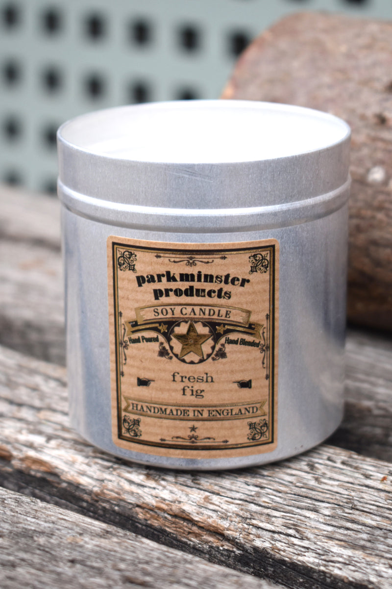 Parkminster Fresh Fig Tin Candle - The Mercantile London