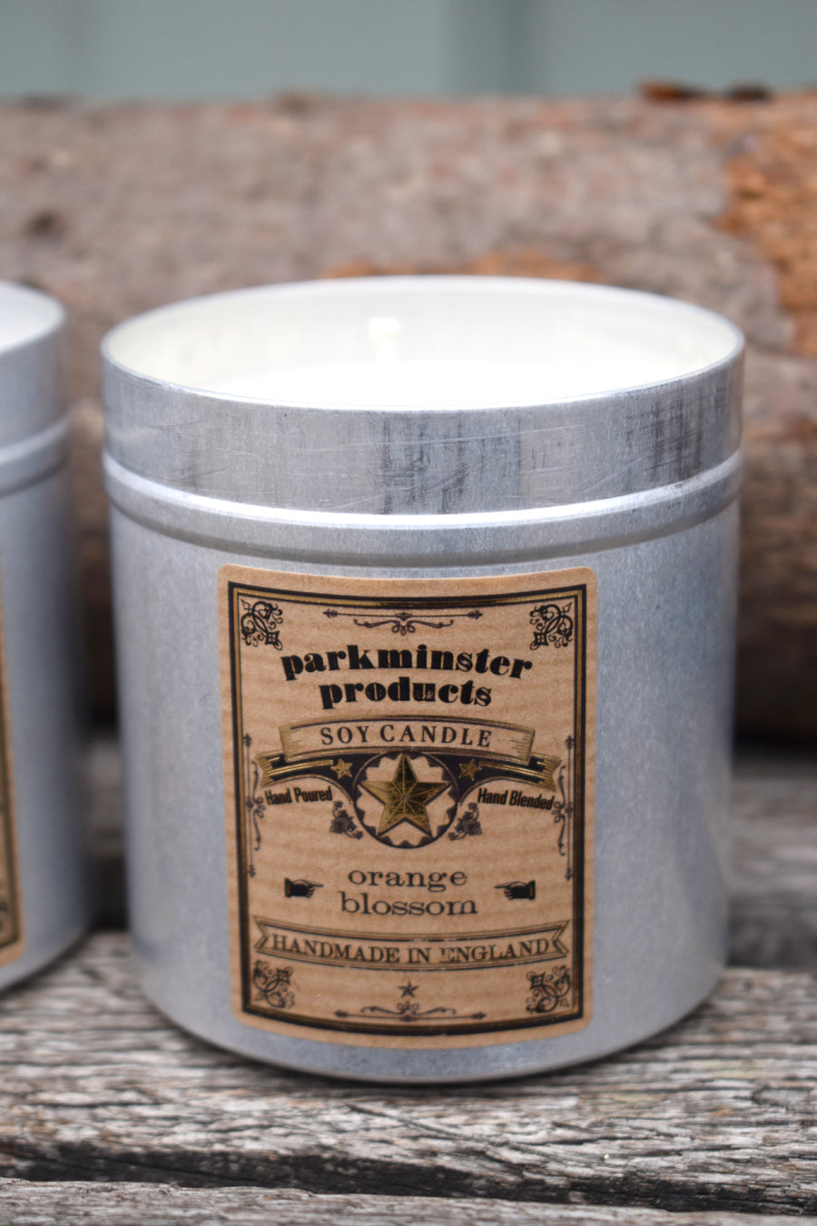 Parkminster Orange Blossom Tin Candle - The Mercantile London