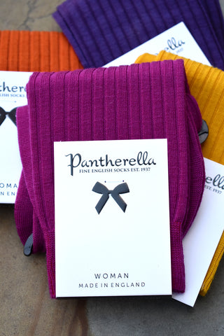 Pantherella Rose Magenta Socks