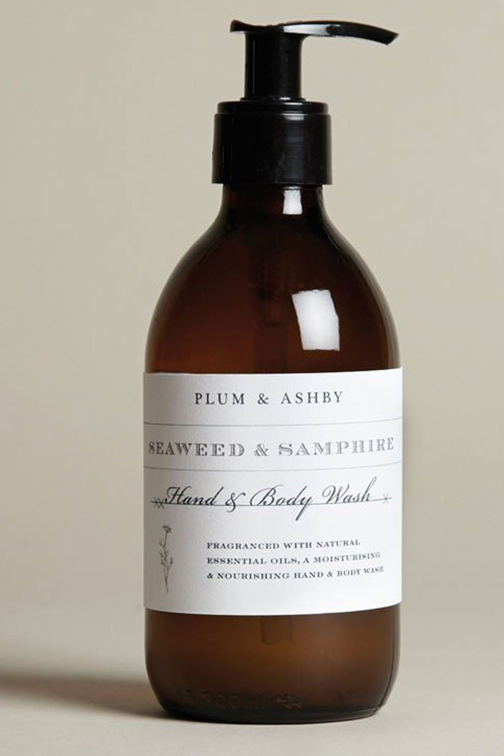 Plum & Ashby Seaweed & Samphire Hand & Body Wash - The Mercantile London