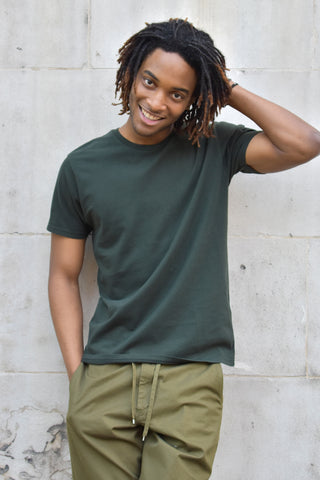 Colorful Standard Classic Hunter Green Organic T-Shirt