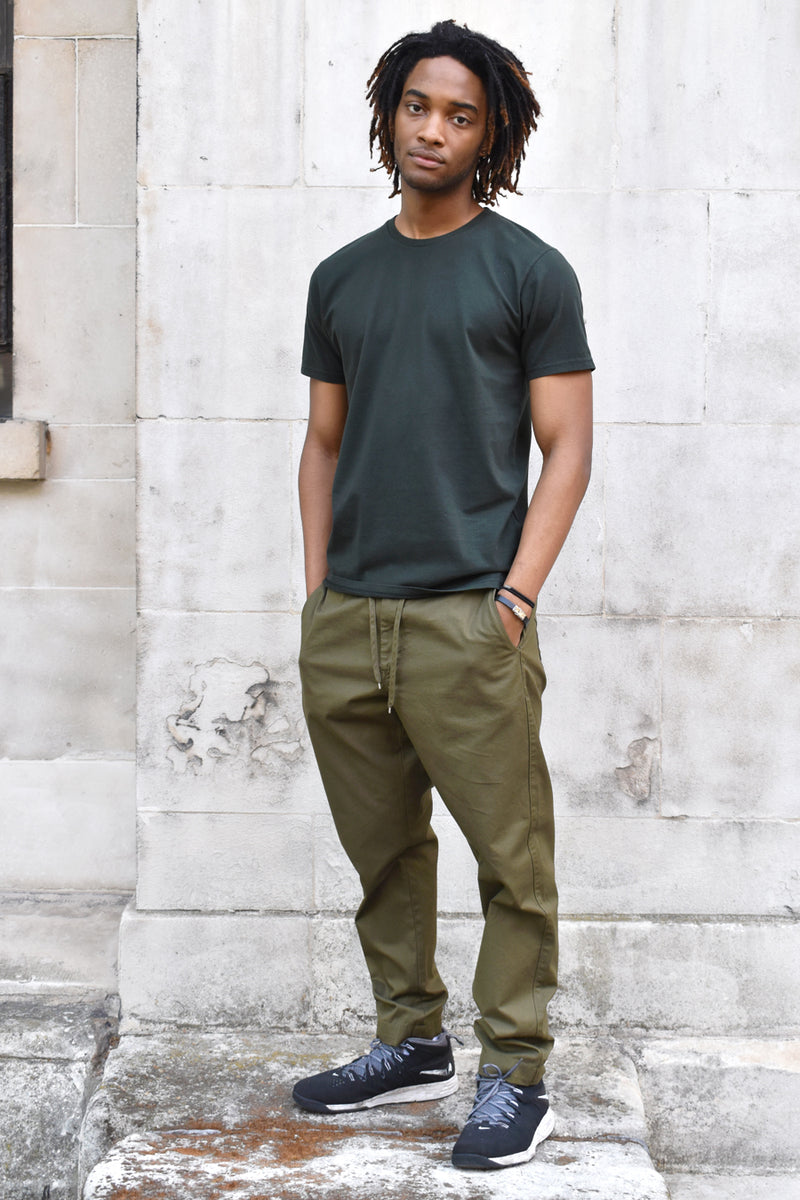 Colorful Standard Unisex Hunter Green T-Shirt - The Mercantile London
