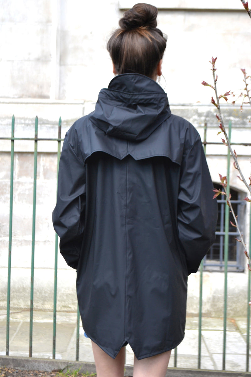 Rains Black Jacket - The Mercantile London