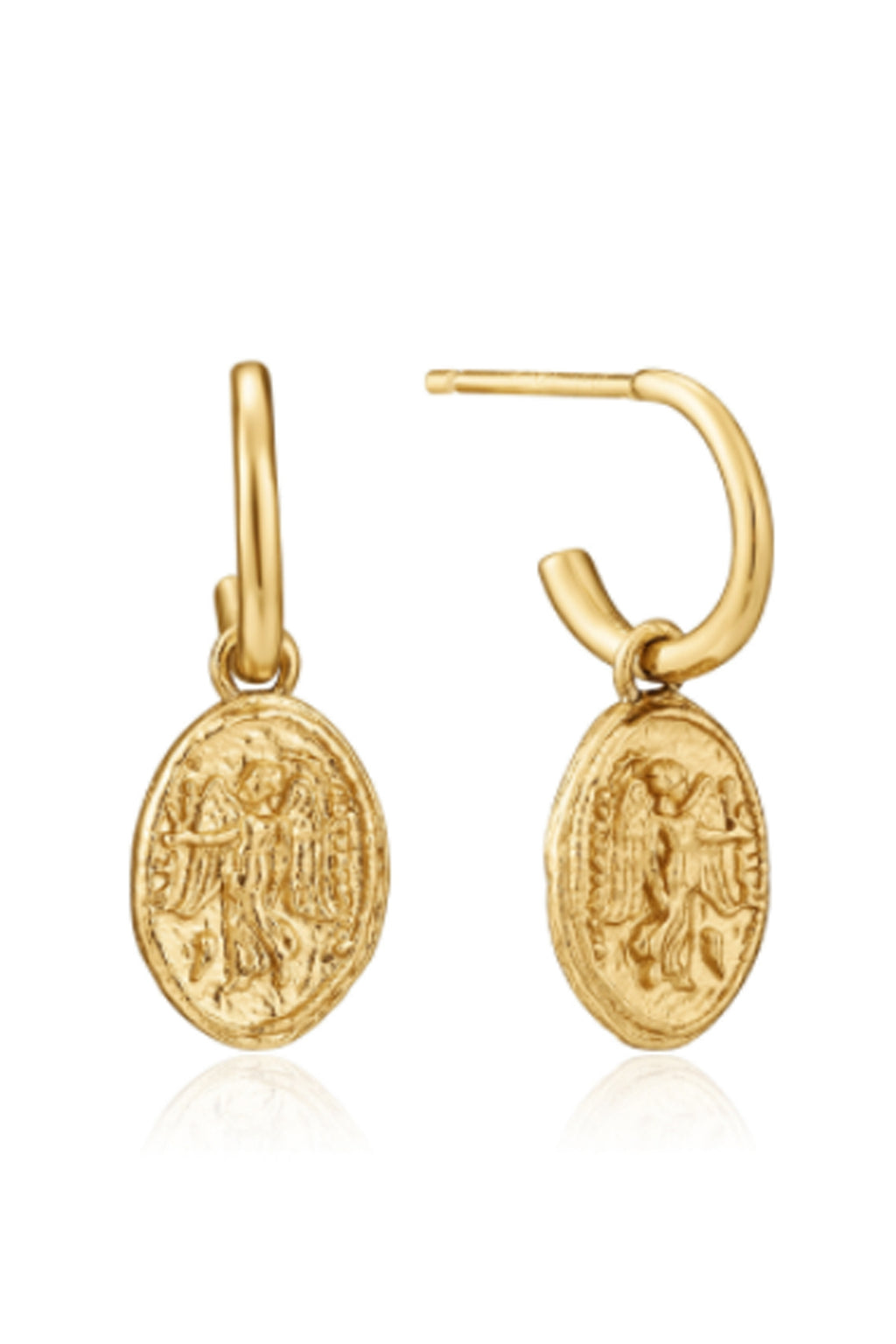 Ania Haie Nika Mini Hoop Earrings - The Mercantile London