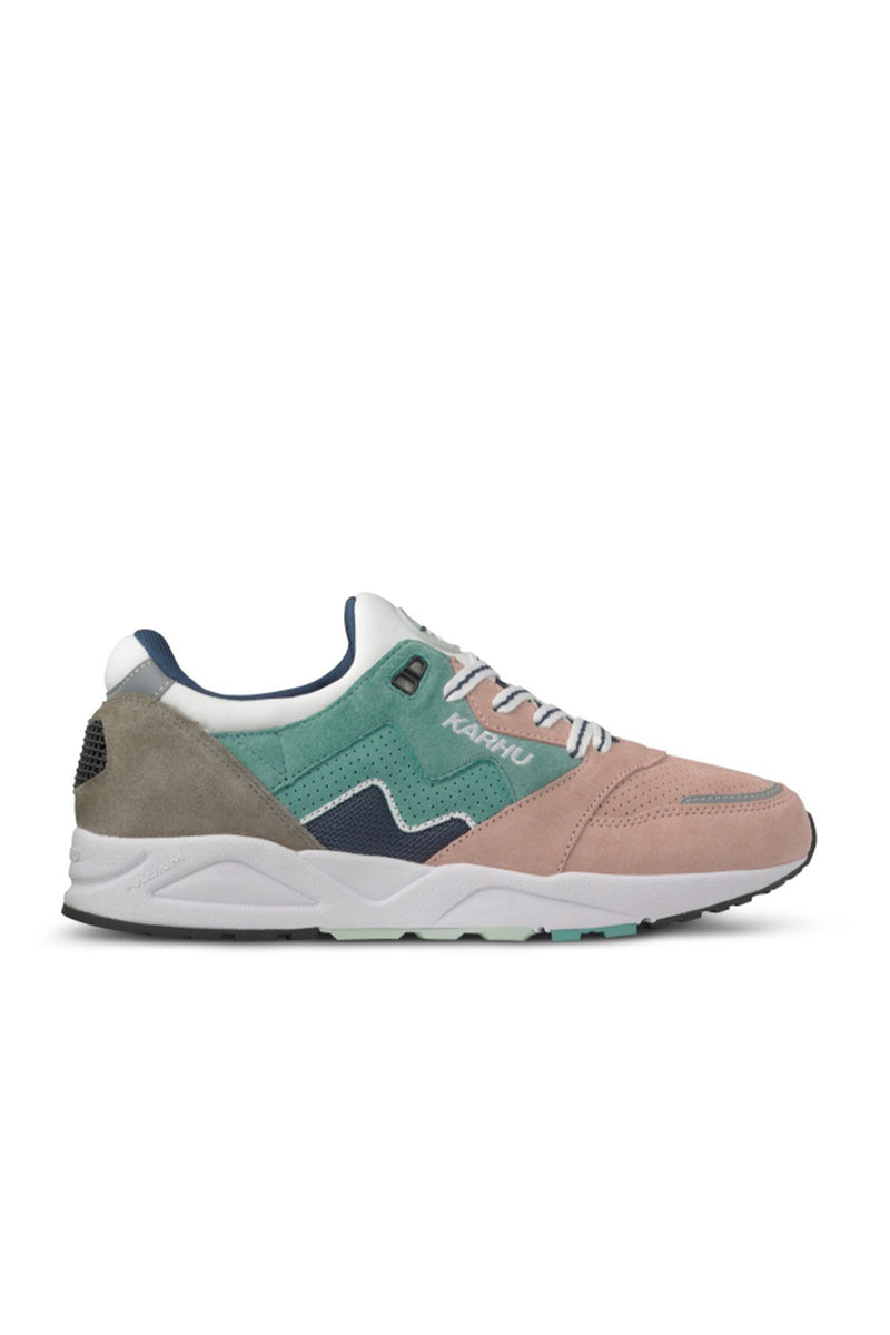 Karhu Aria Oil Blue / Misty Rose Trainers - The Mercantile London