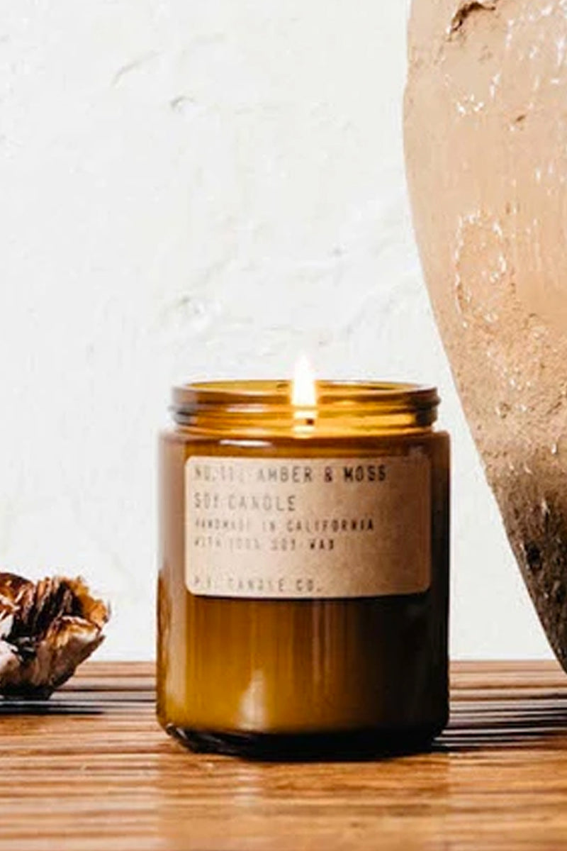 PF Candle Co No. 11 Amber & Moss Candle - The Mercantile London