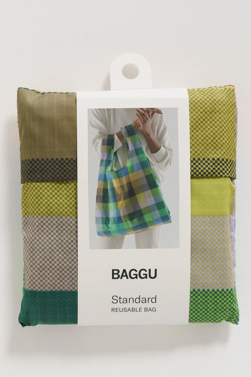 Baggu Madras No3 Reusable Bag - The Mercantile London