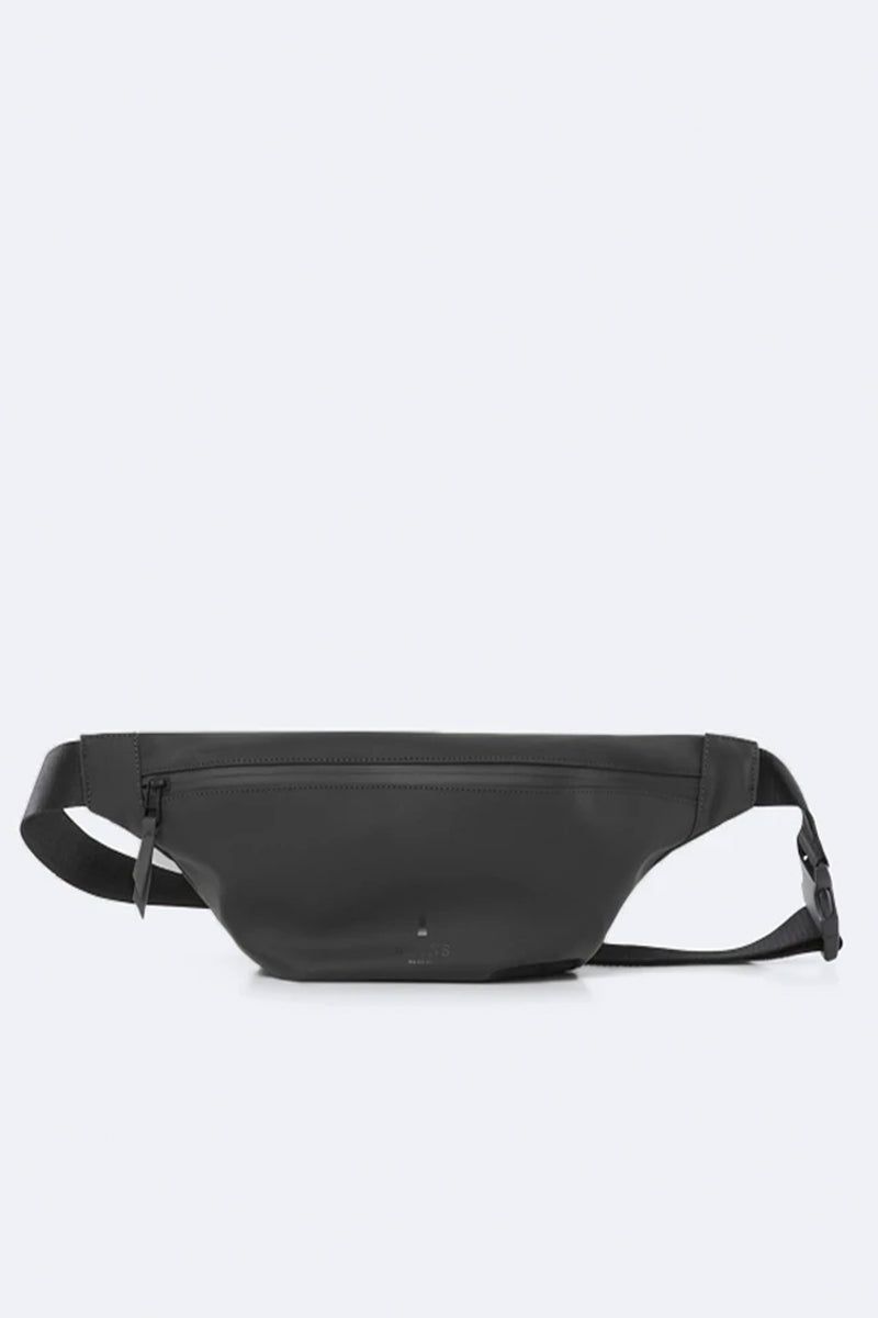 Rains Black Bum Bag - The Mercantile London