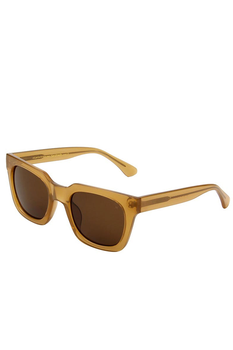 A Kjaerbede Nancy Light Brown Sunglasses - The Mercantile London