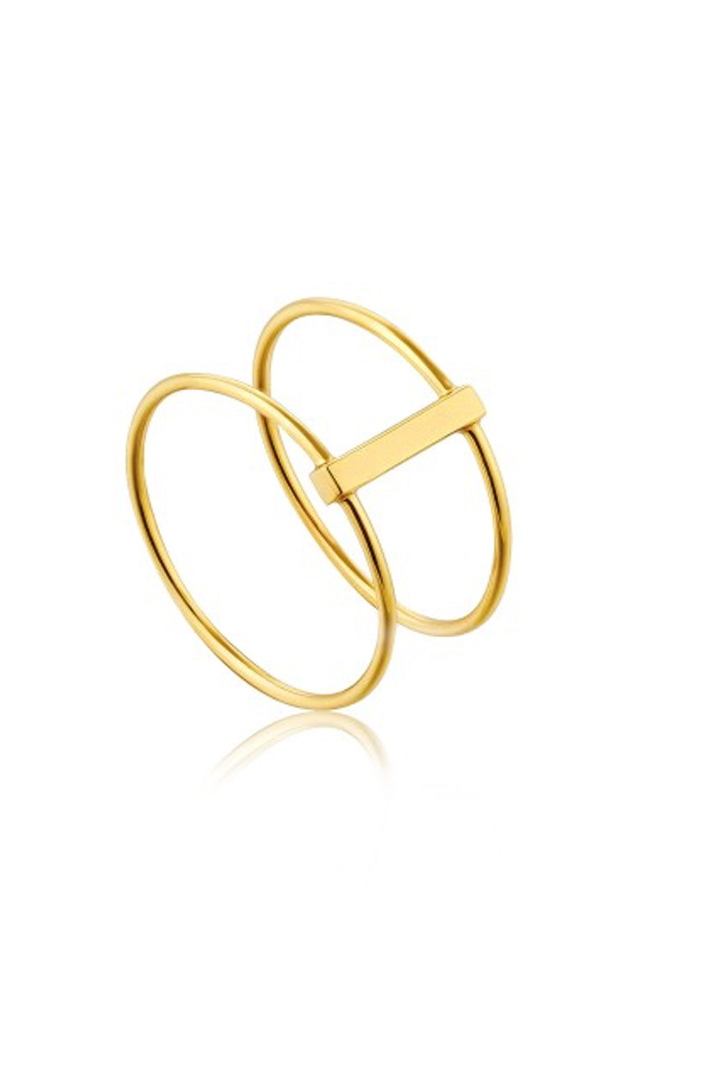 Ania Haie Modern Double Ring - The Mercantile London