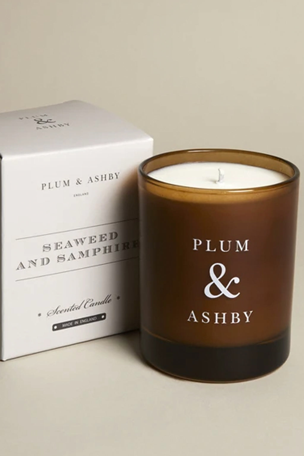Plum & Ashby Seaweed & Samphire Candle - The Mercantile London