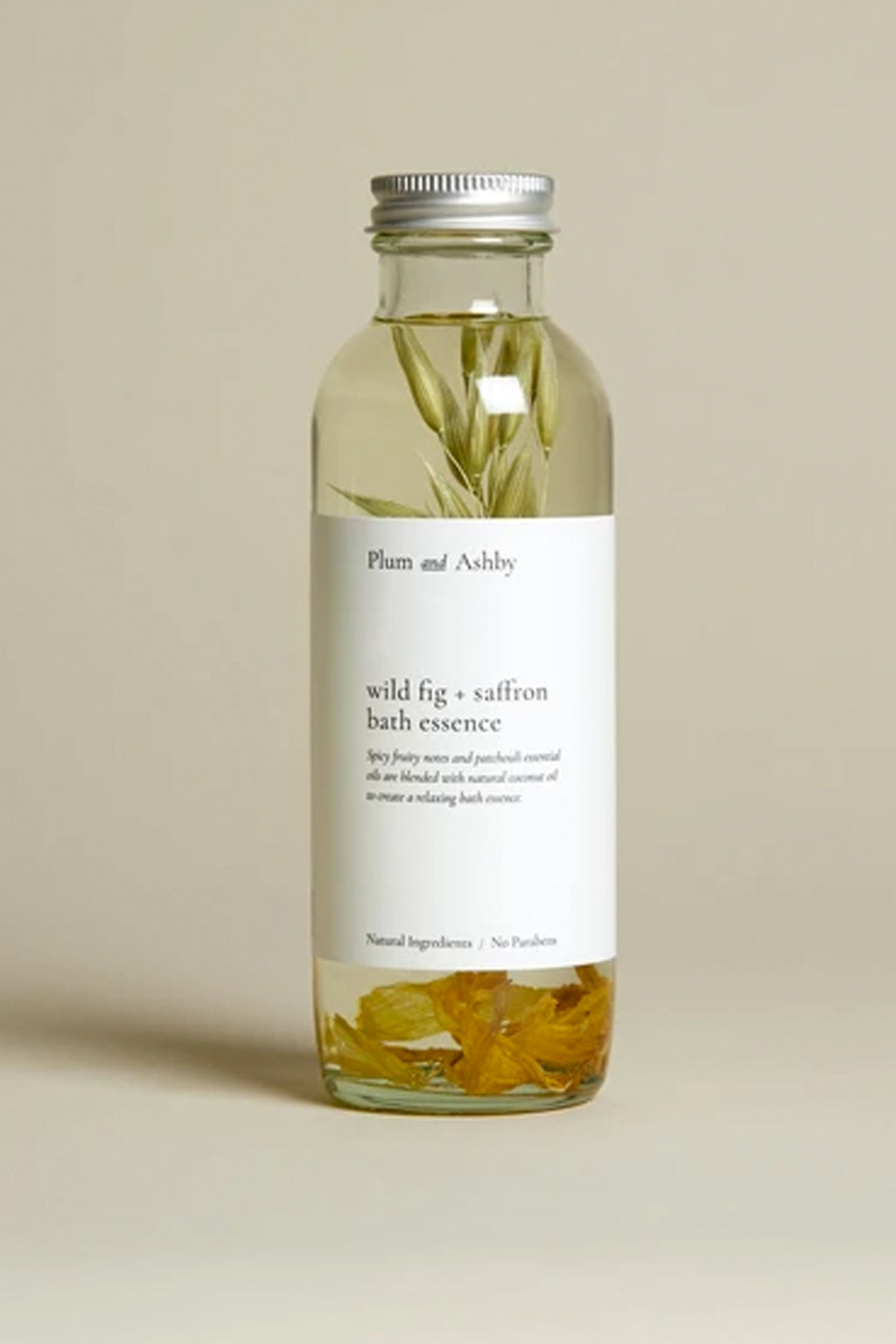 Plum & Ashby Wild Fig & Saffron Bath Essence - The Mercantile London